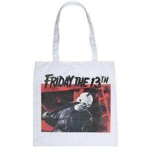 Friday The 13th Reusable Grocery Tote Bag HORROR